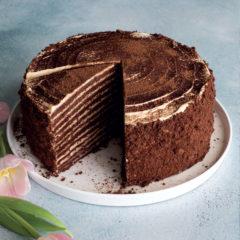 Chocolate-honey cake
