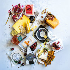 Impress your guests with a festive cheeseboard
