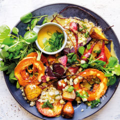 Caramelised butternut-and-beetroot salad