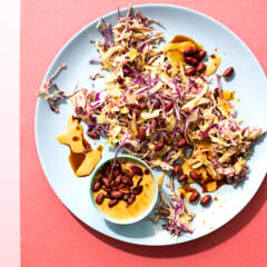 Crunchy no-raisin coleslaw