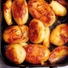 Duck fat roast potatoes