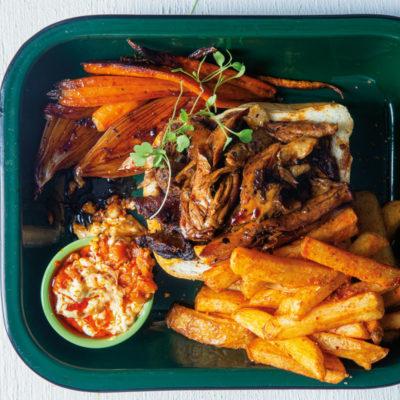 Leftover roast lamb kota