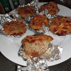 Liver spread muffins