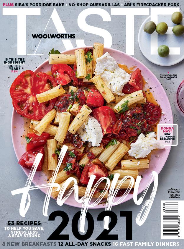 Taste Jan/Feb cover 2021