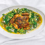 Butter-basted roast chicken