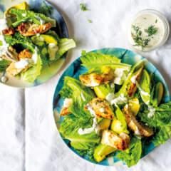 Carb-conscious chicken salad