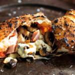 Mini-ham-and-mushroom-calzones