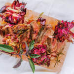 Roasted-red-onion-flowers