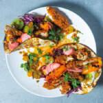 Southern-fried-crumbed-chicken-fajitas