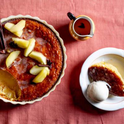 Bertus Basson's Tannie Hetta's apple tart