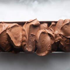 Chocolate fondant ice cream