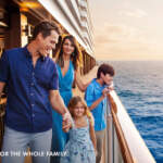 NCL family on cruise ship