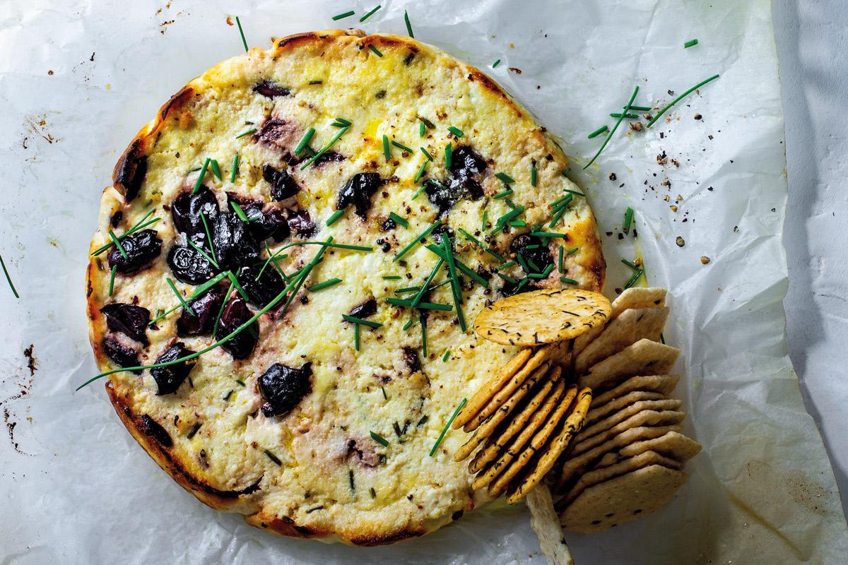 Baked-olive-ricotta