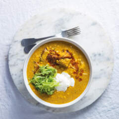 Corn-and-potato curry