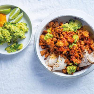 Harissa stir-fried chicken