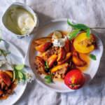 Nectarine-almond-crumble