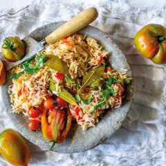 Portuguese tomato rice
