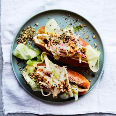 Gourmet crab roll