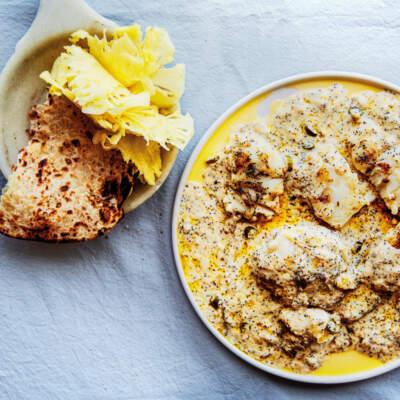 Hake curry