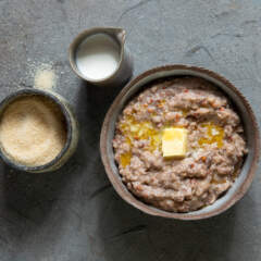 Sorghum breakfast porridge