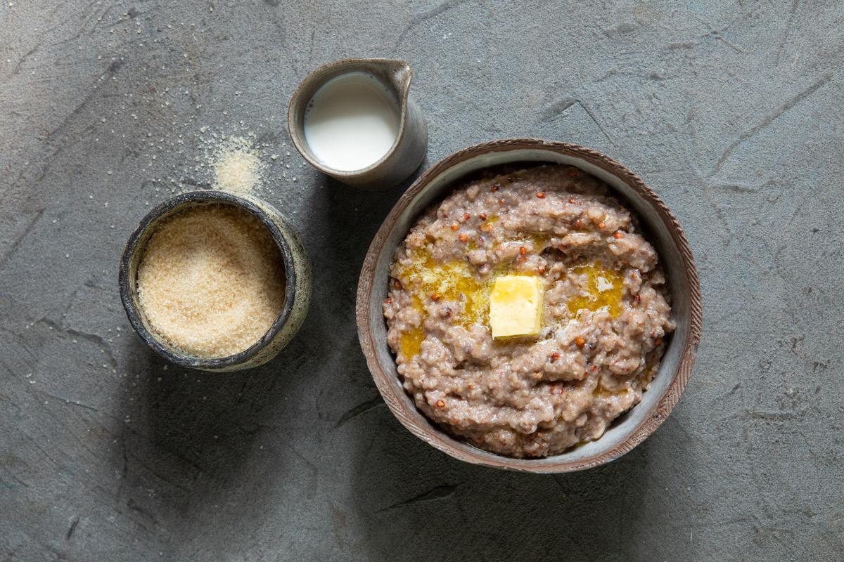 Sorghum-porridge