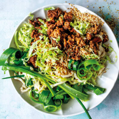 Stir-fried pork mince