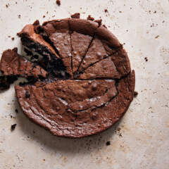 Ultimate flourless chocolate cake