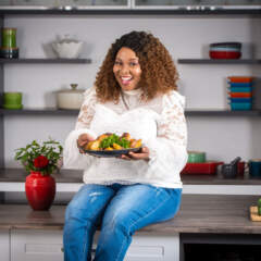 From girl-next-door to cookbook author: Liziwe Matloha on reaching your dreams