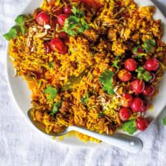 Bobotie rice