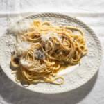 plate of Cacio e pepe