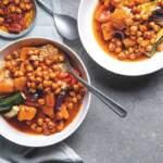 Moroccan roast veggies