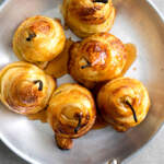 Pear-pastry-twists