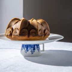 Tea-infused Bundt cake