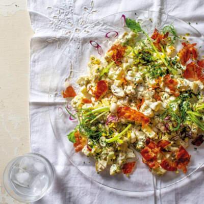 uPamela's remixed potato salad