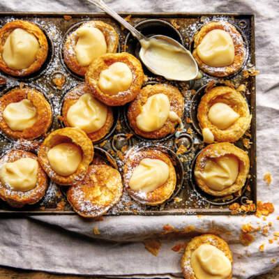3-ingredient lemon tarts