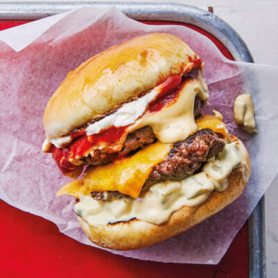 Miso cheeseburgers