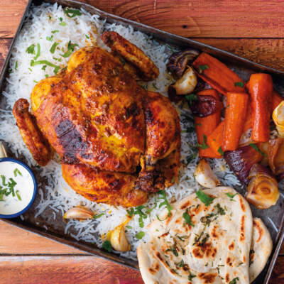 Sunday curried roast chicken