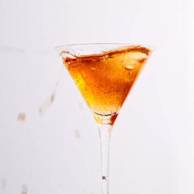 The hot cross bun martini