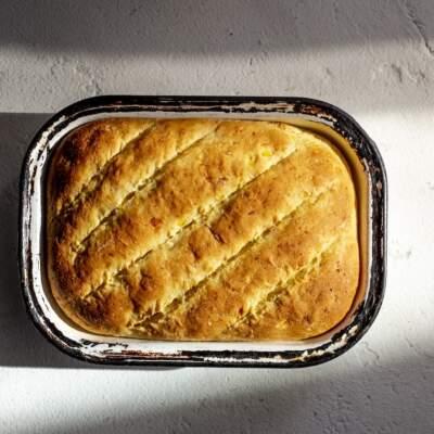 Isinkwa sommbila (mielie bread)
