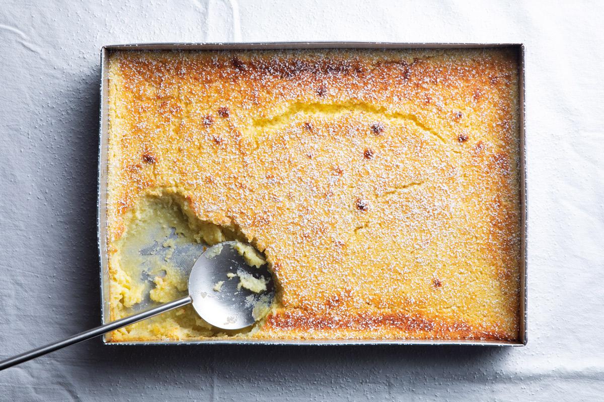 Self-saucing-lemon-pudding