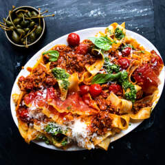 Cheat's quick Bolognese