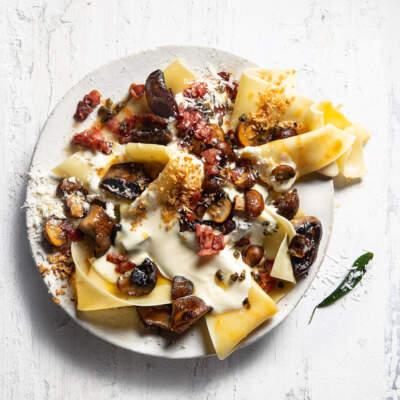 Free-form lasagne