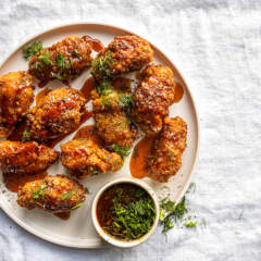 Dunked wings