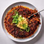 Pilchard crispy rice