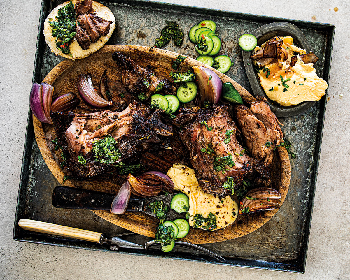 SLOW-COOKED LAMB NECK