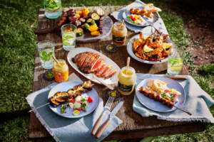 Maille BBq table