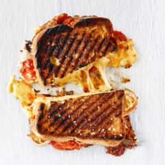 Three-cheese braaibroodjie