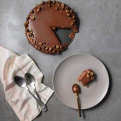 No-bake Chuckles chocolate tart
