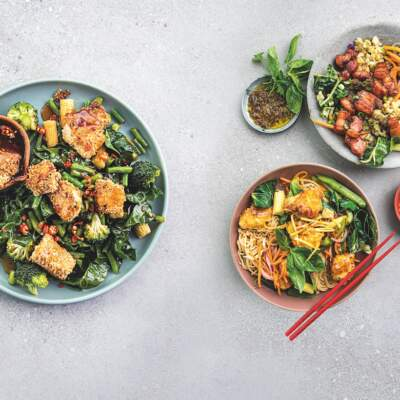 3 easy, speedy, midweek recipes